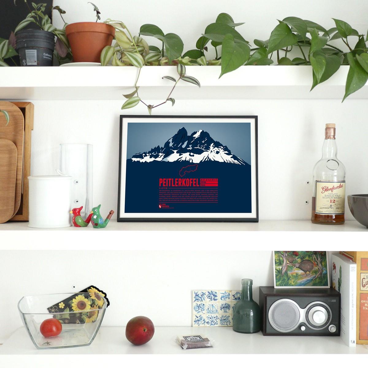 Peitlerkofel - Bergdruck