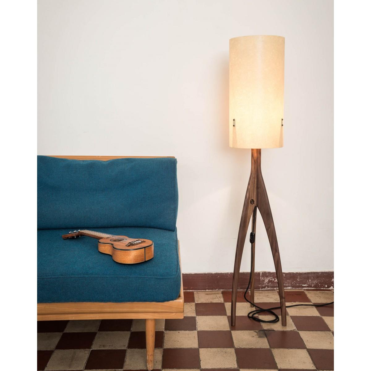 """Pirol Furnituring Lampe """"Rocket"""", Walnuss"""
