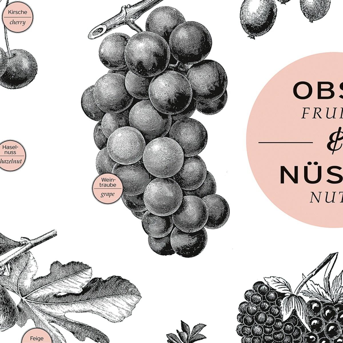 """A2 Plakat """"Obst & Nüsse"""""""