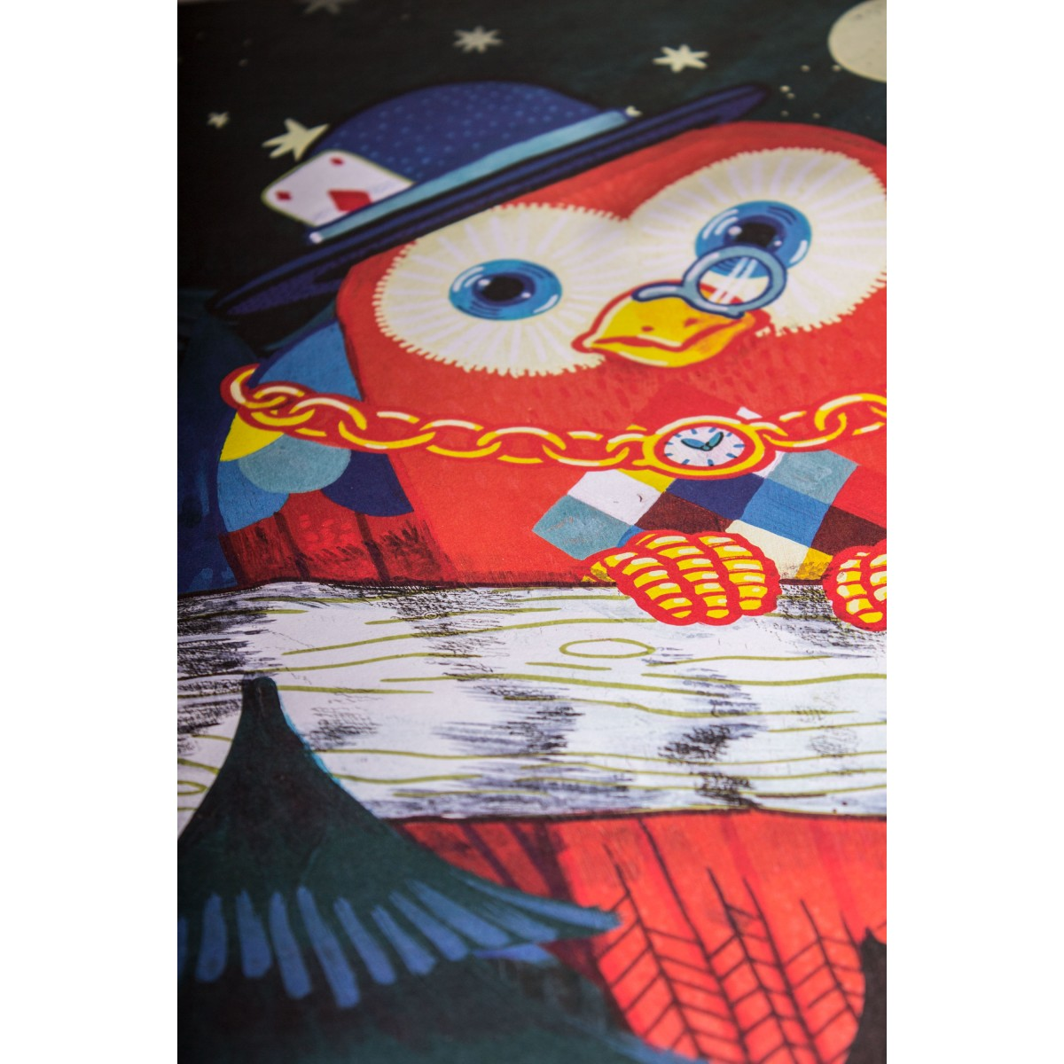 Poster »Dark Night«, 50x70cm