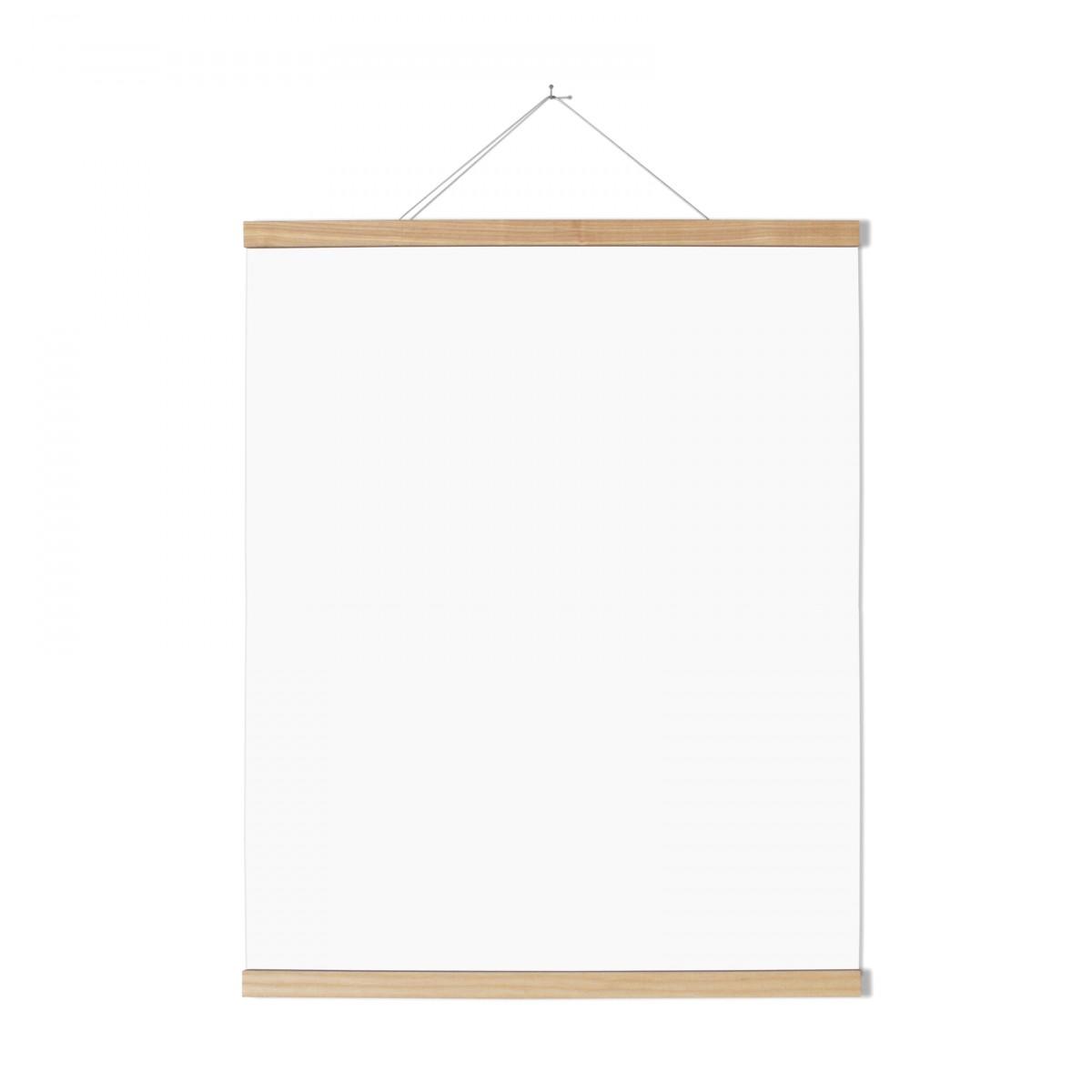 Magnetische Posterleiste Esche 60 cm