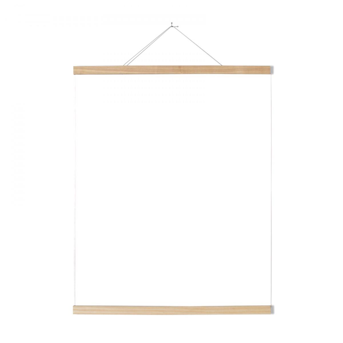 Magnetische Posterleiste Esche 70 cm