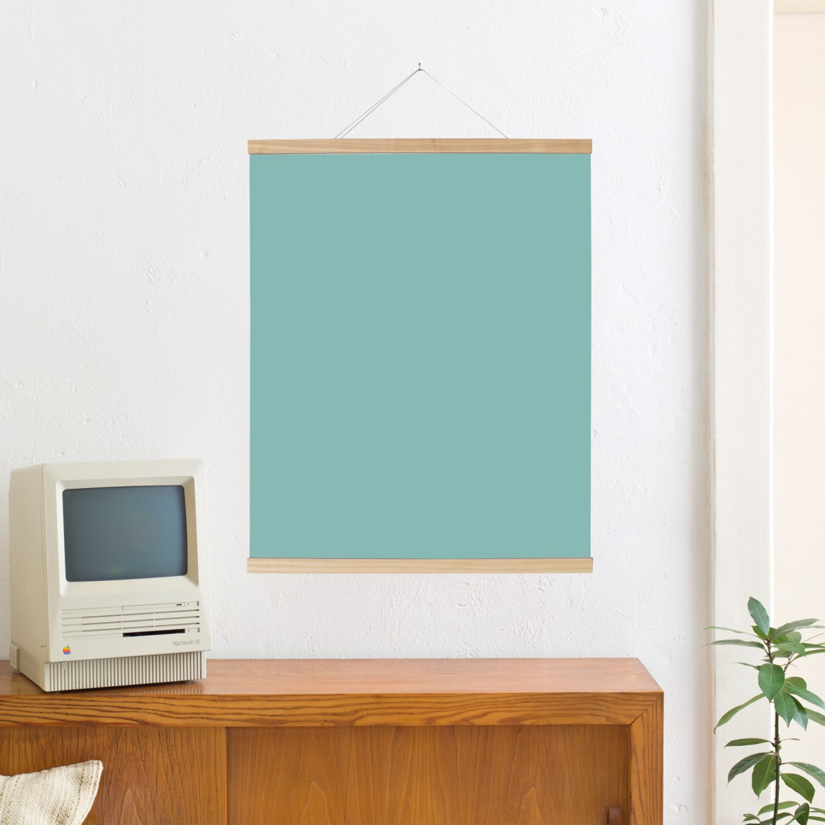 Kleinwaren / von Laufenberg – Magnetische Posterleiste Esche 70 cm