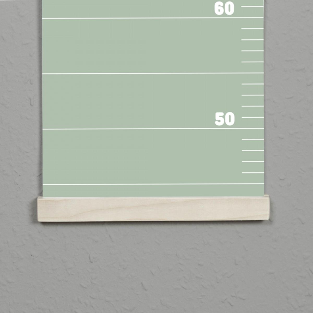 punktkommastrich - Posterleiste / Bilderleiste / magnetische Bilderleiste / Aufhängung für Messlatte im Kinderzimmer