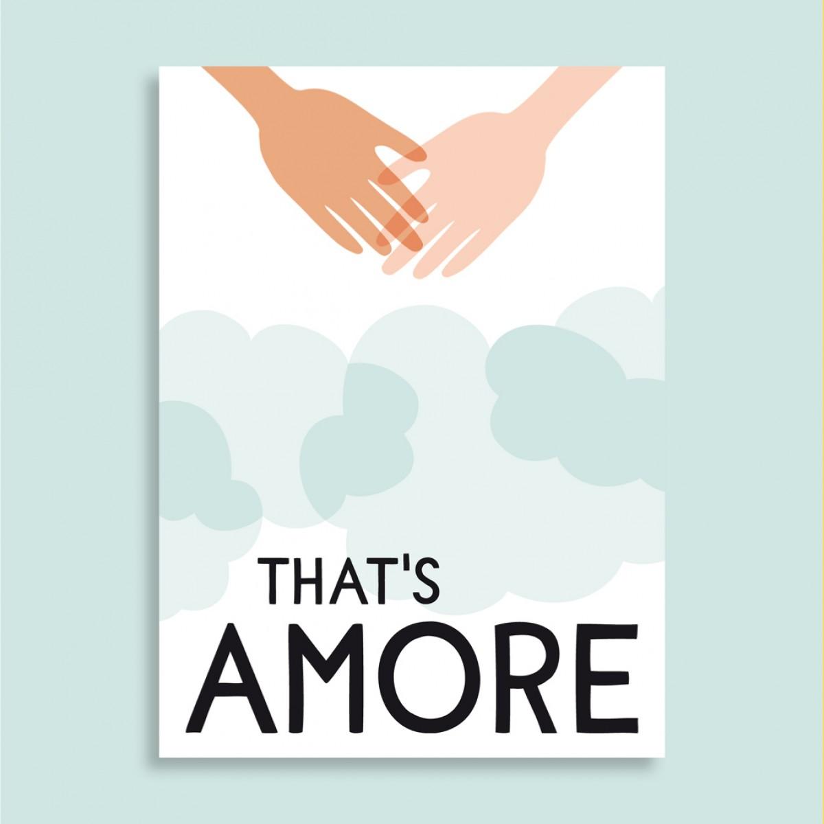 Family Tree Shop / Postkarte / Amore