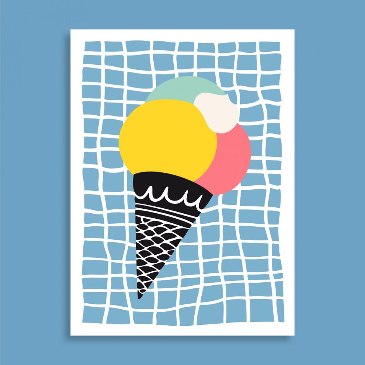 Family Tree Shop / Postkarten-Set / Sommer