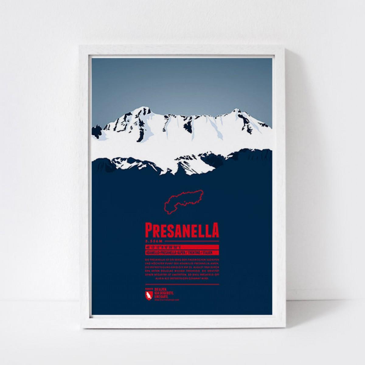 Marmota Maps – Presanella - Bergdruck