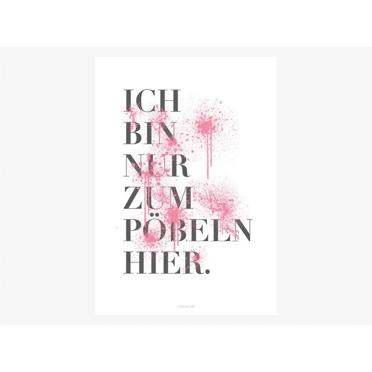 typealive / Pöbeln