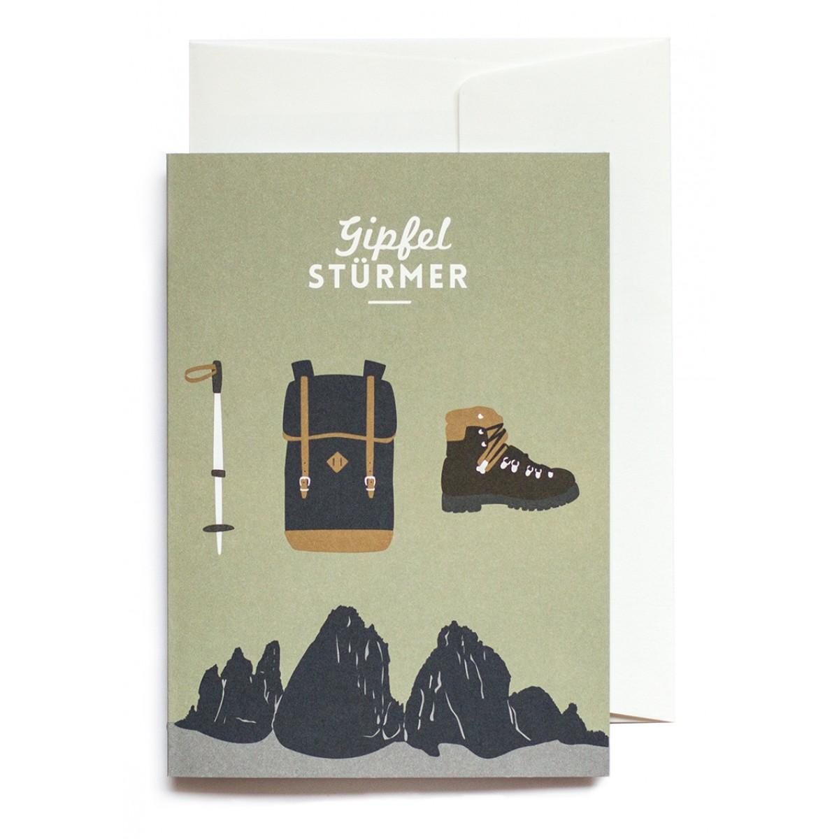 Roadtyping Set Gipfelstürmer | 3x Klappkarte A6 inkl. Kuverts
