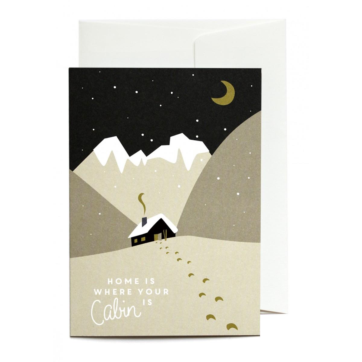 Set Berg-Winter | 3x Klappkarte A6 inkl. Kuverts