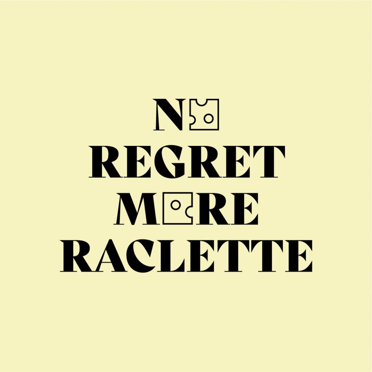 No Regret More Raclette Jutebeutel – studio ciao