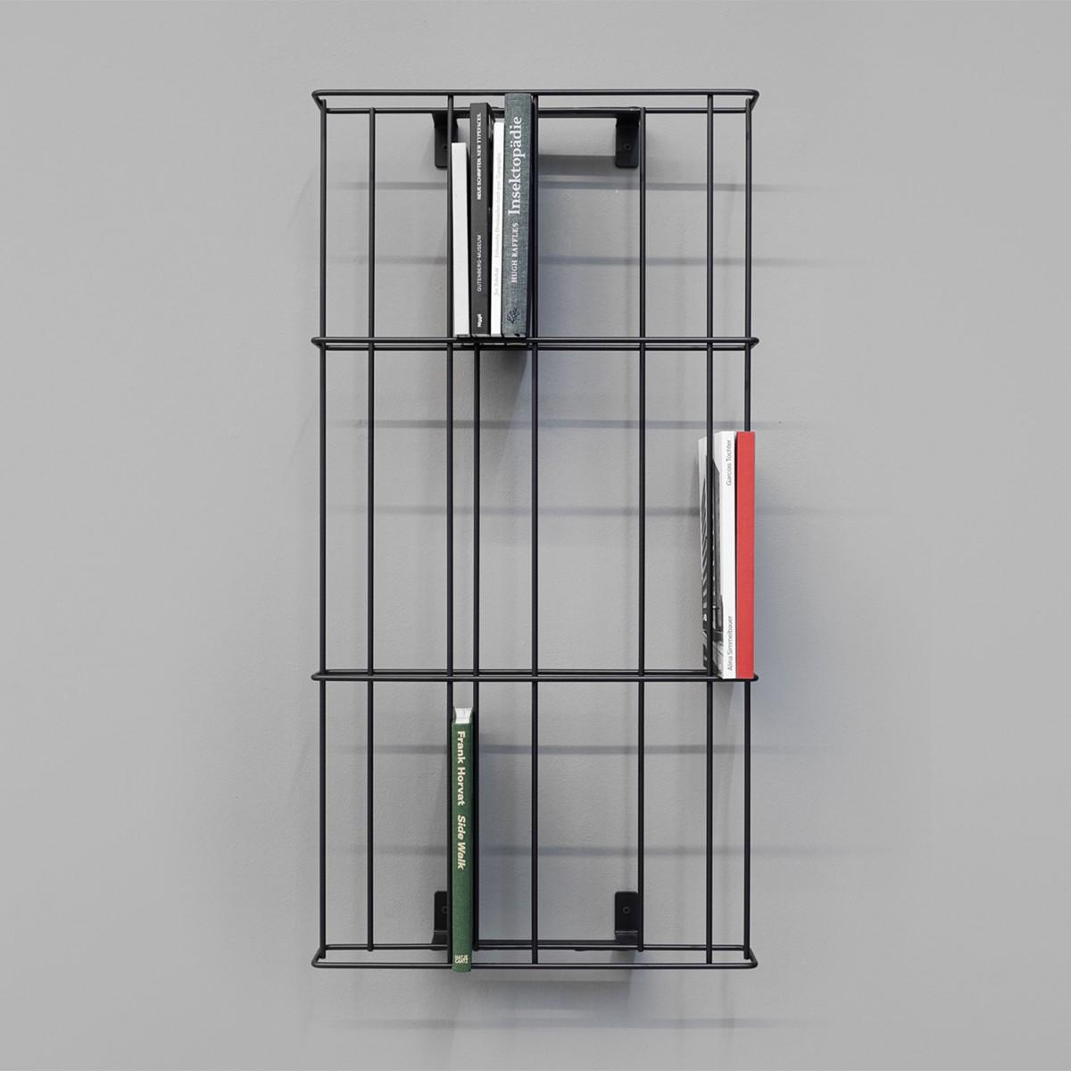 GRID Regal Schwarz | Result Objects