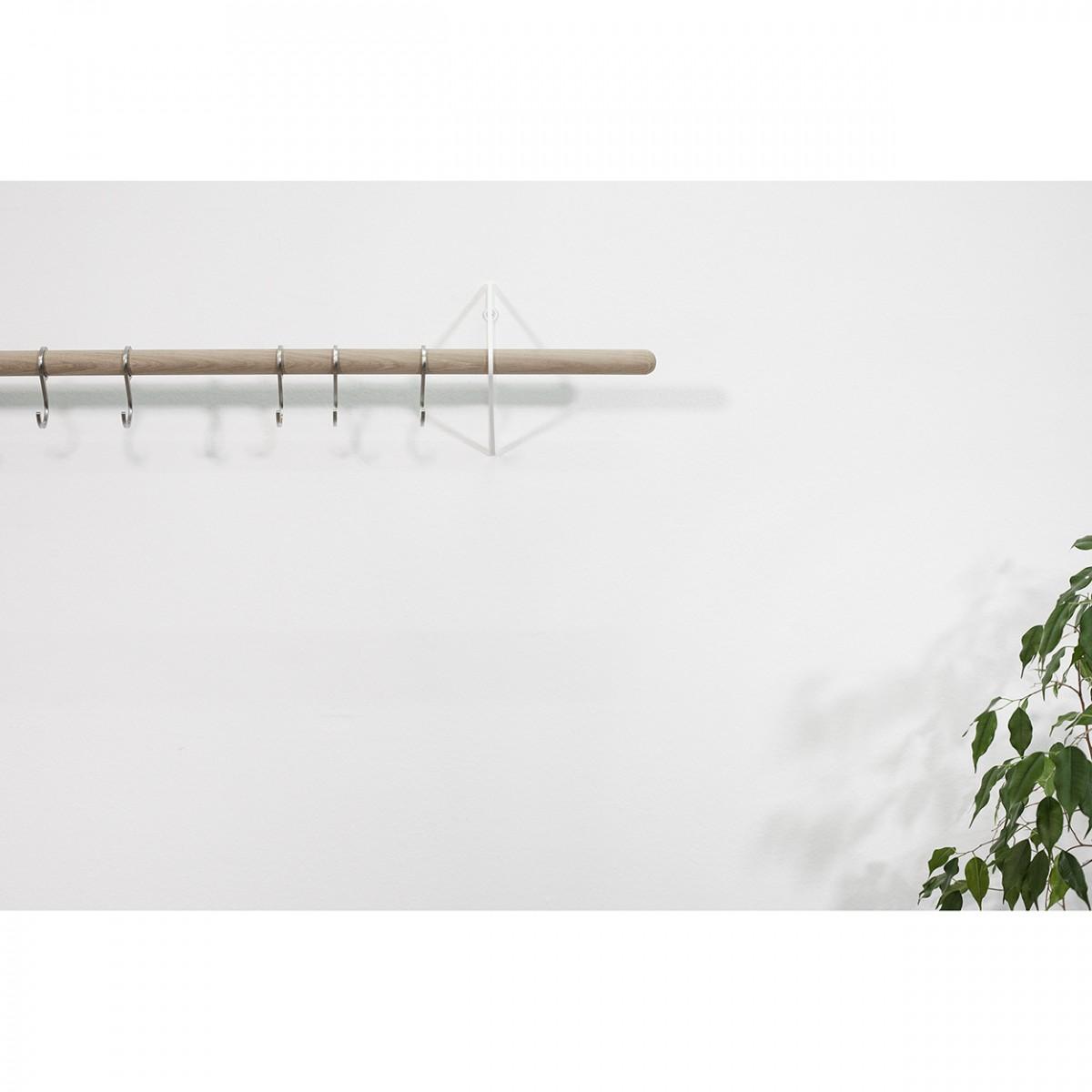 Garderobenhaken für SOLID Flurgarderobe, 5 Stück (Zubehör) | Result Objects