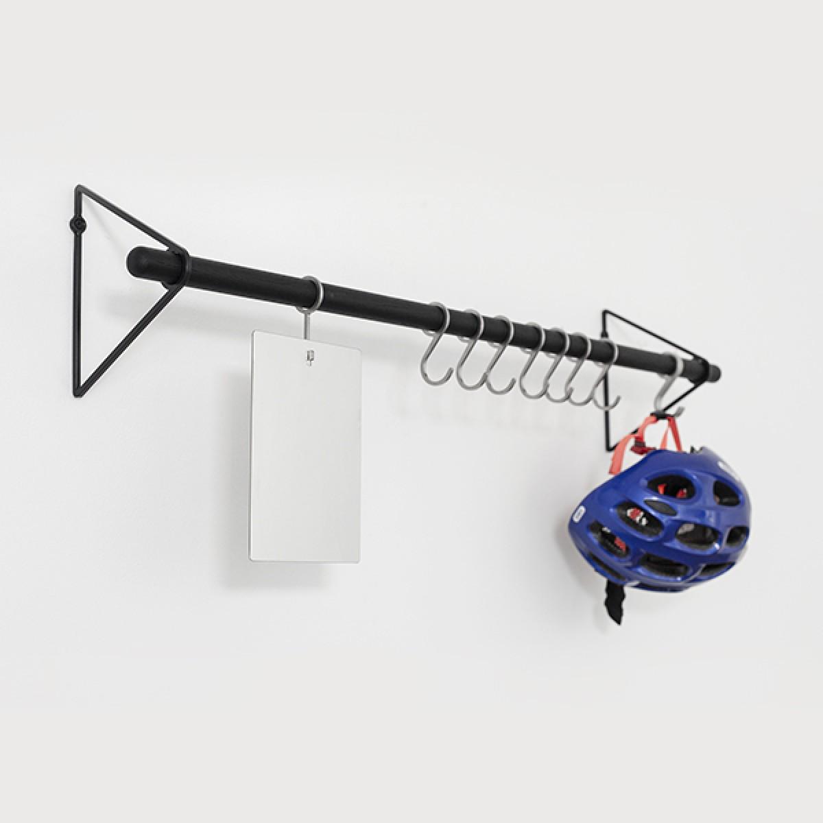 Garderobenhaken für SOLID Flurgarderobe, 5 Stück Edelstahl (Zubehör) | Result Objects
