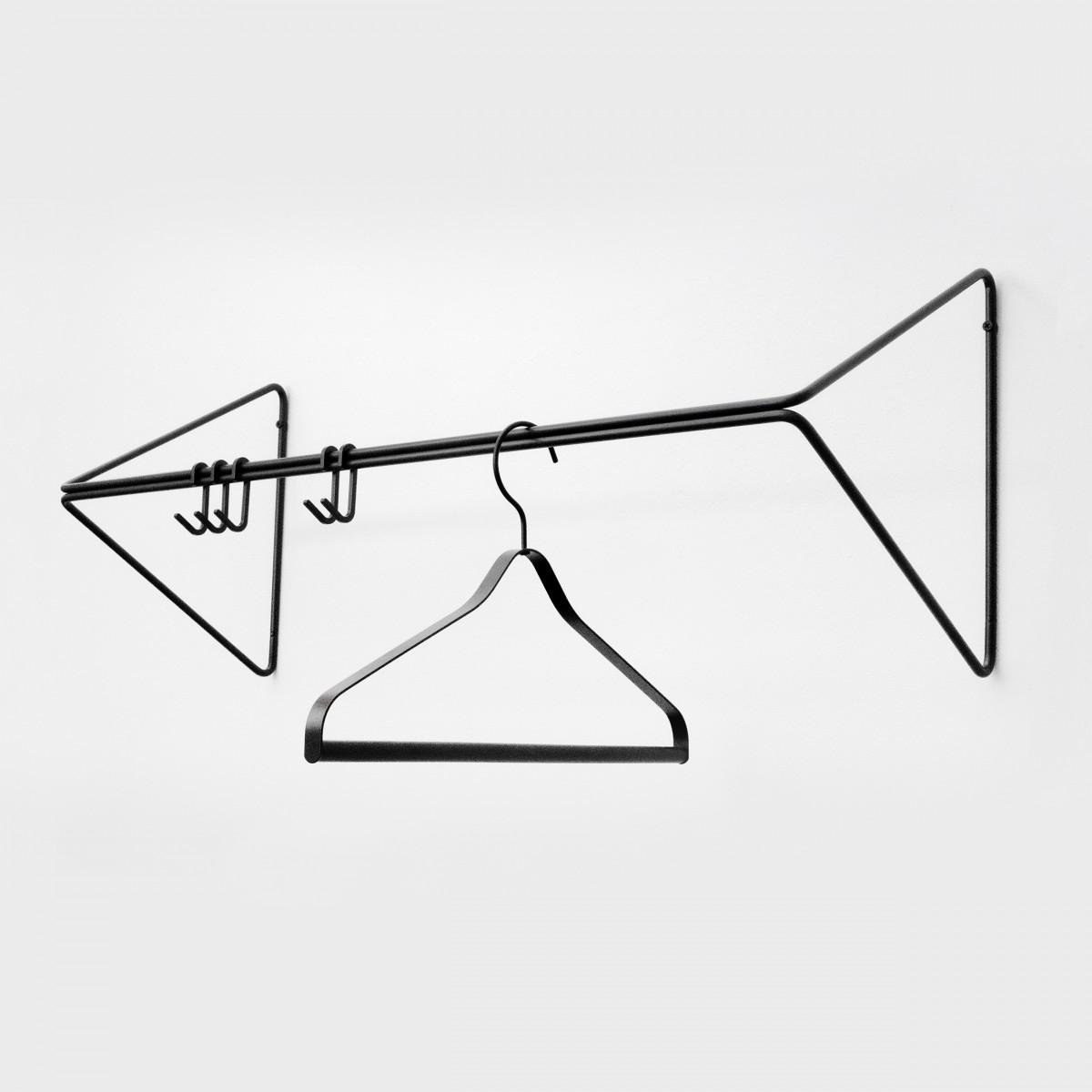 SYNC Garderobe Schwarz | Result Objects