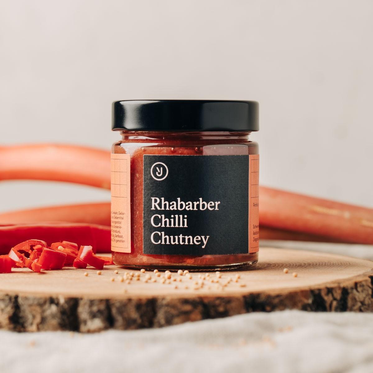 Essen für uns - Rhabarber Chili Chutney (180g)