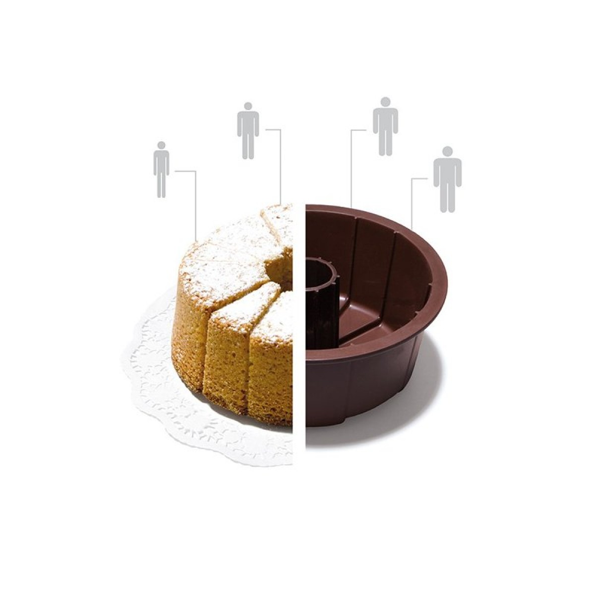 Konstantin Slawinski S-XL CAKE SMALL Backform