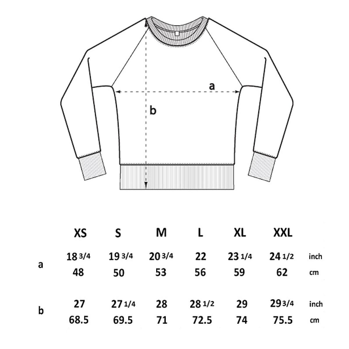 Douze – Bike Skull - Mens Recycled Organic Sweatshirt