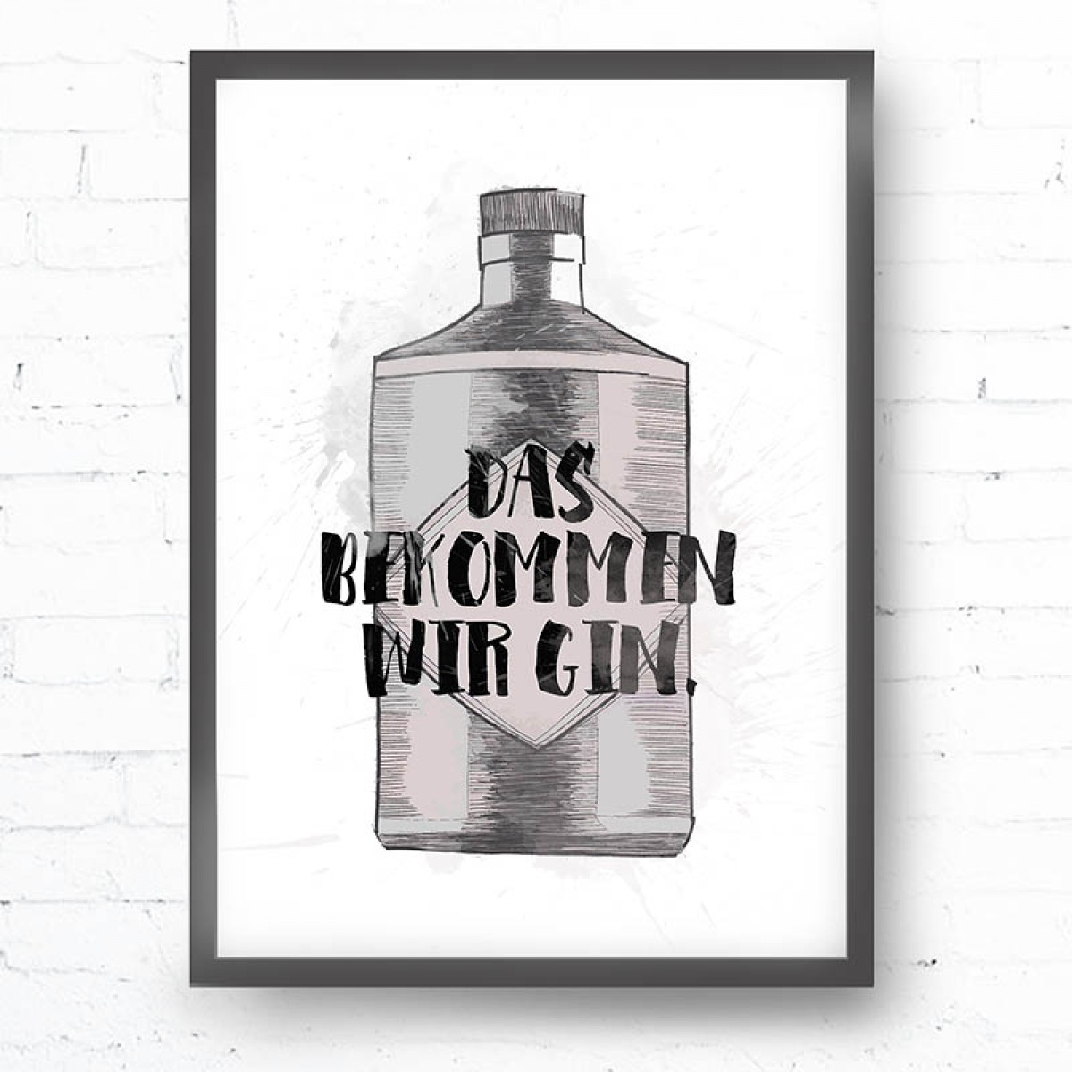 Kruth Design POSTER / GIN