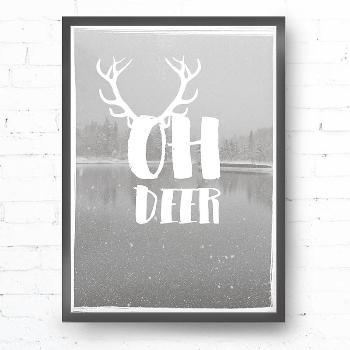 Kruth Design POSTER / OH DEER