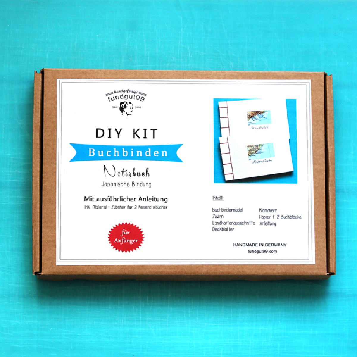 fundgut99 DIY Buchbinde Kit