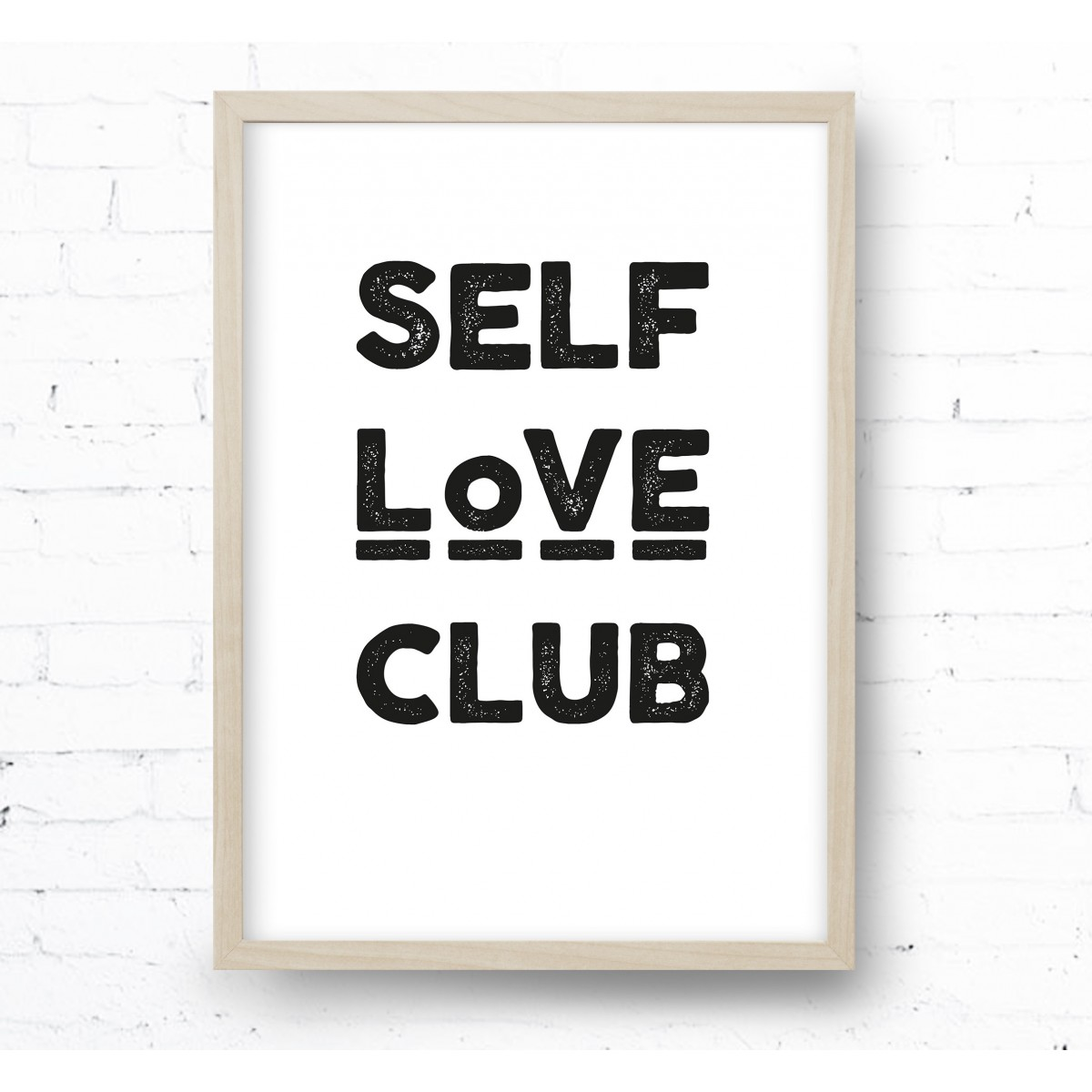 Kruth Design POSTER / SELF LOVE CLUB