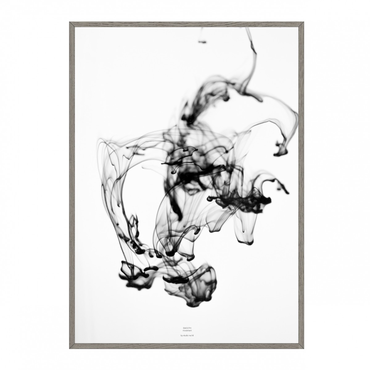 SMOOTH movement - black Artprint A3 Poster, 50x70, A1 Poster