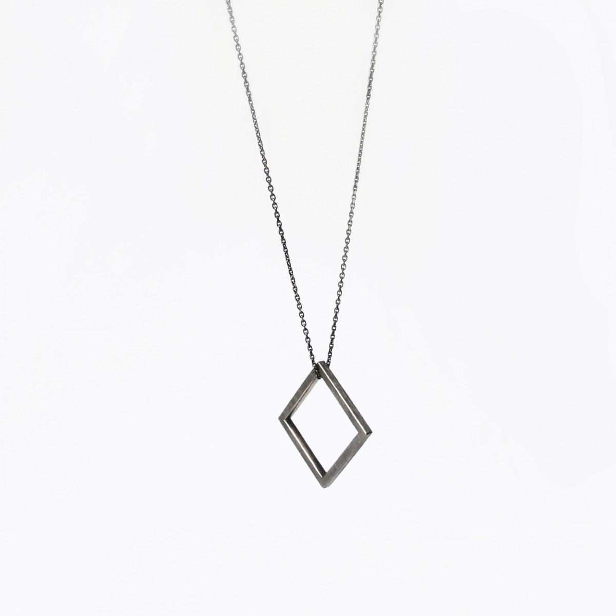 B KREB jewelry SQUARE necklace