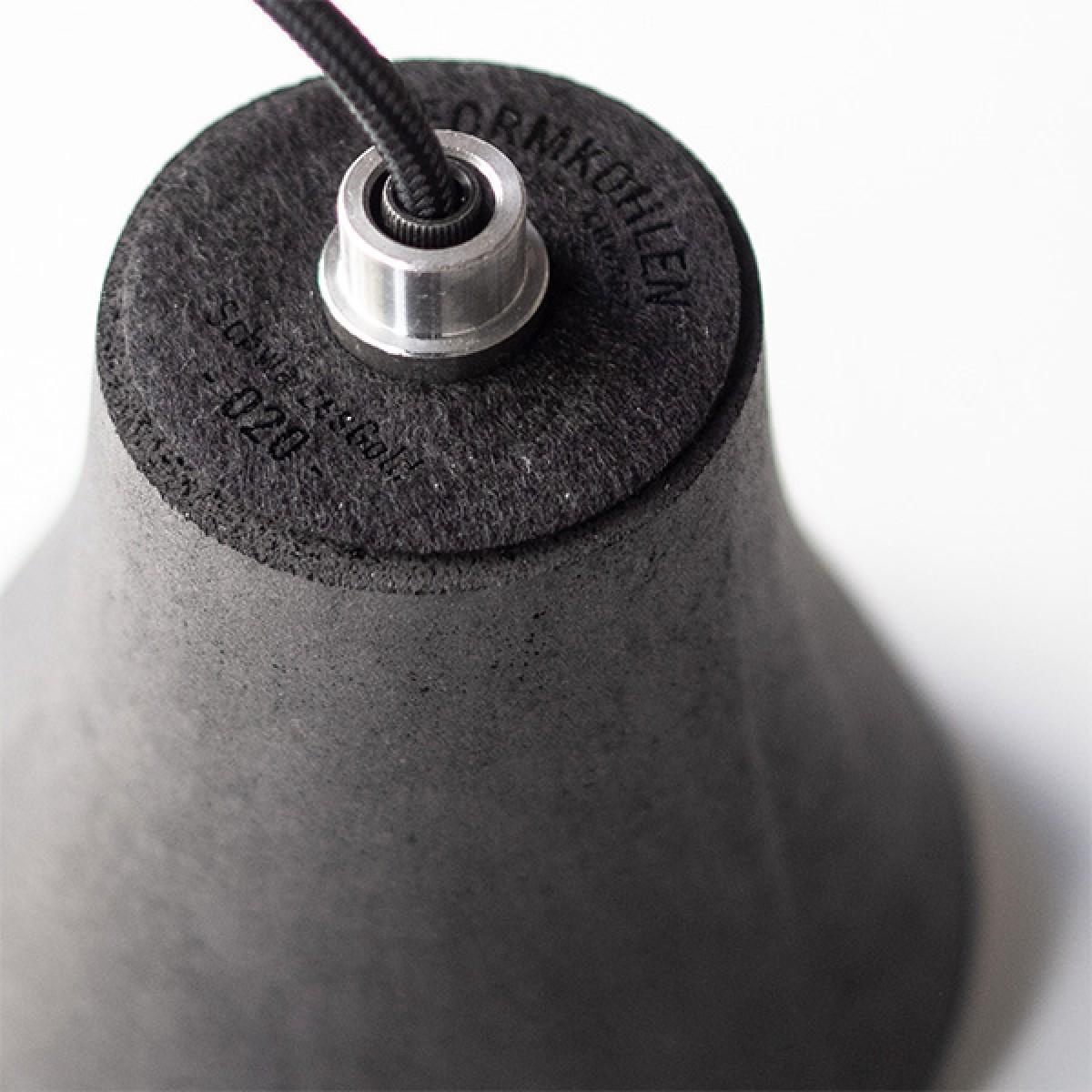 SchwarzesGold - Pendelleuchte | Kohle in Form!