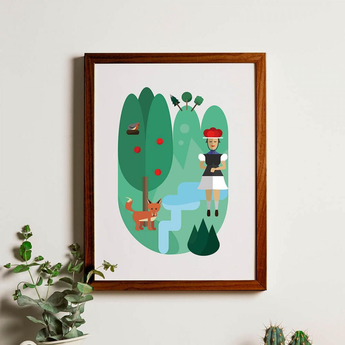 Chiara Tempel – Oh, du schöner Schwarzwald – Poster B2 (500x700mm)