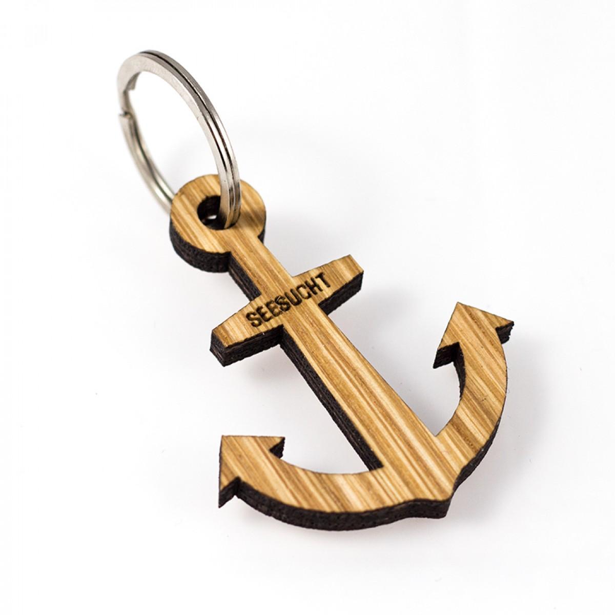 Seesucht Manufaktur Schlüsselanhänger Anker