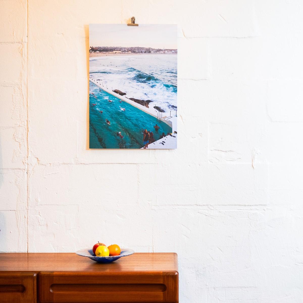 'Bondi Beach' limitierter Fotodruck auf Naturpapier, DIN A2, klimaneutral gedruckt  / Ankerwechsel Verlag