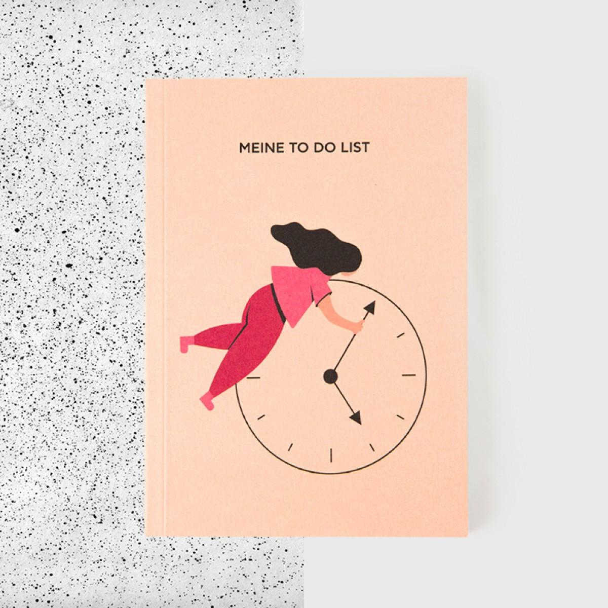 """Ela Gabriela Design Notizbuch """"Meine To Do List"""""""