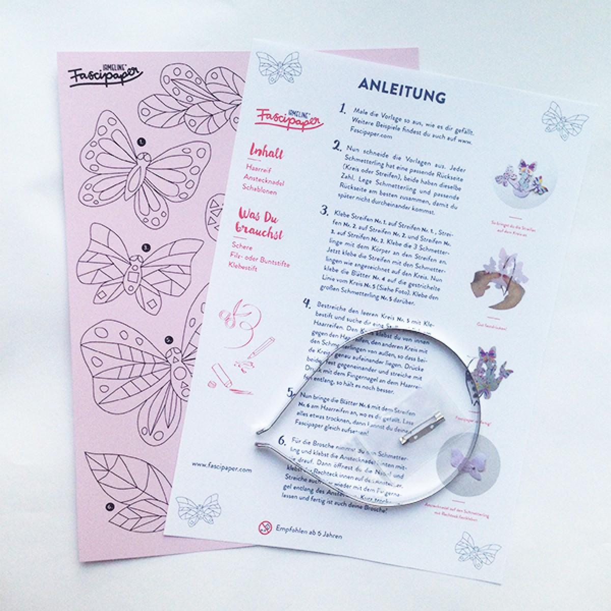 Fascipaper Schmetterling