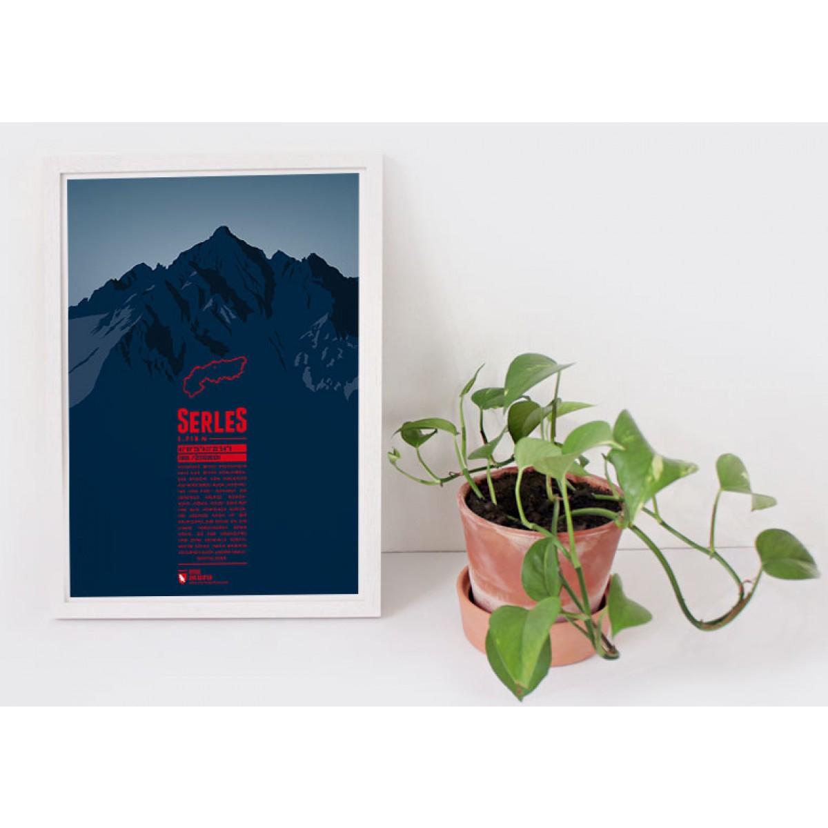 Serles - Bergdruck