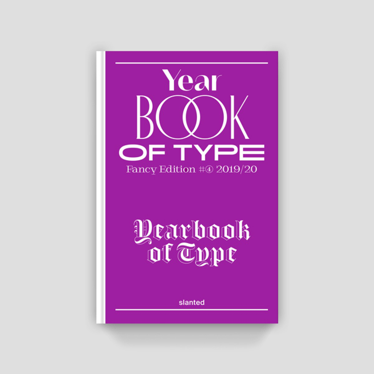Slanted Yearbook of Type 2019/20