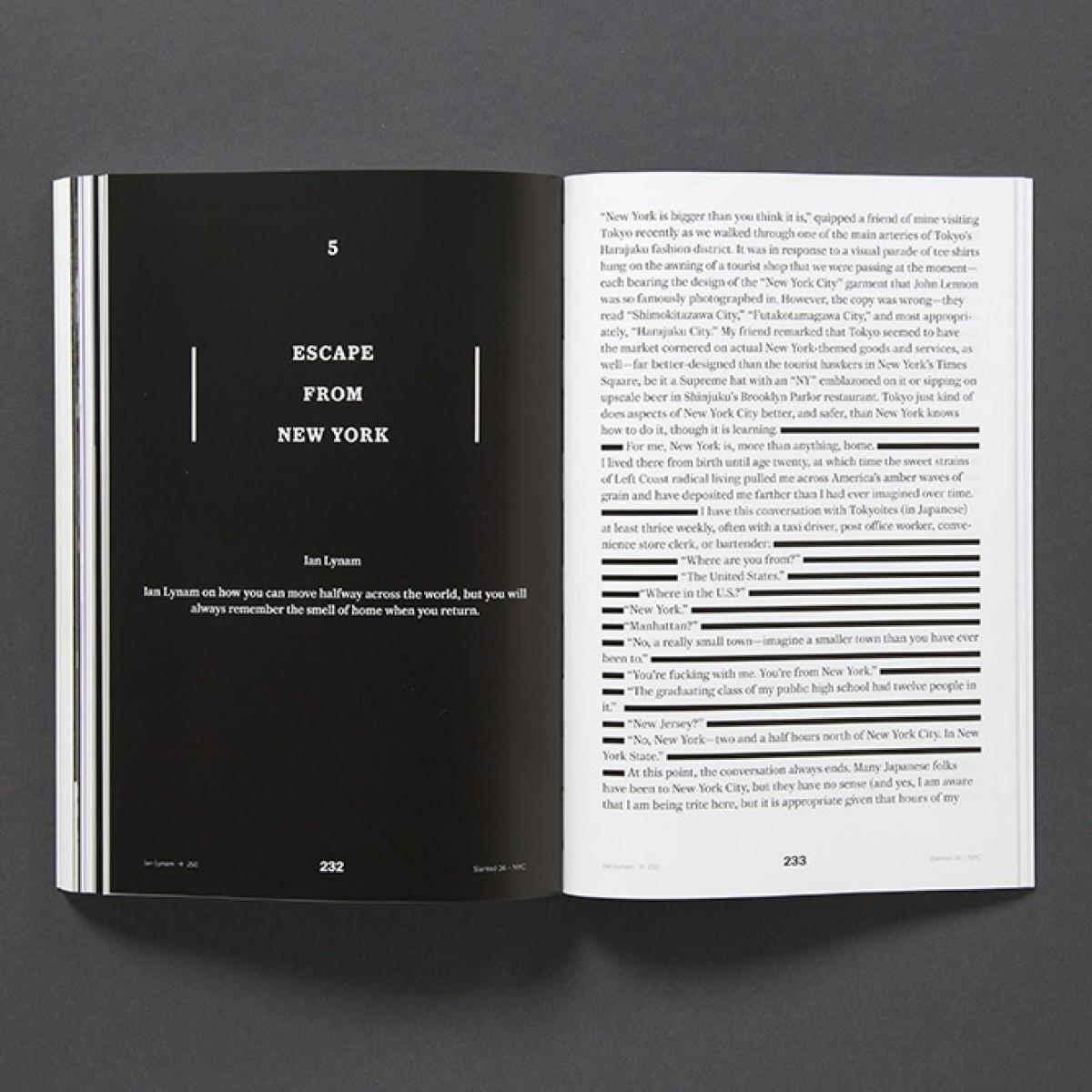 Slanted Magazin #26 – New York