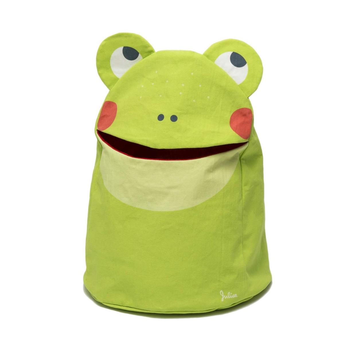 zookids Spielzeugtasche Frosch