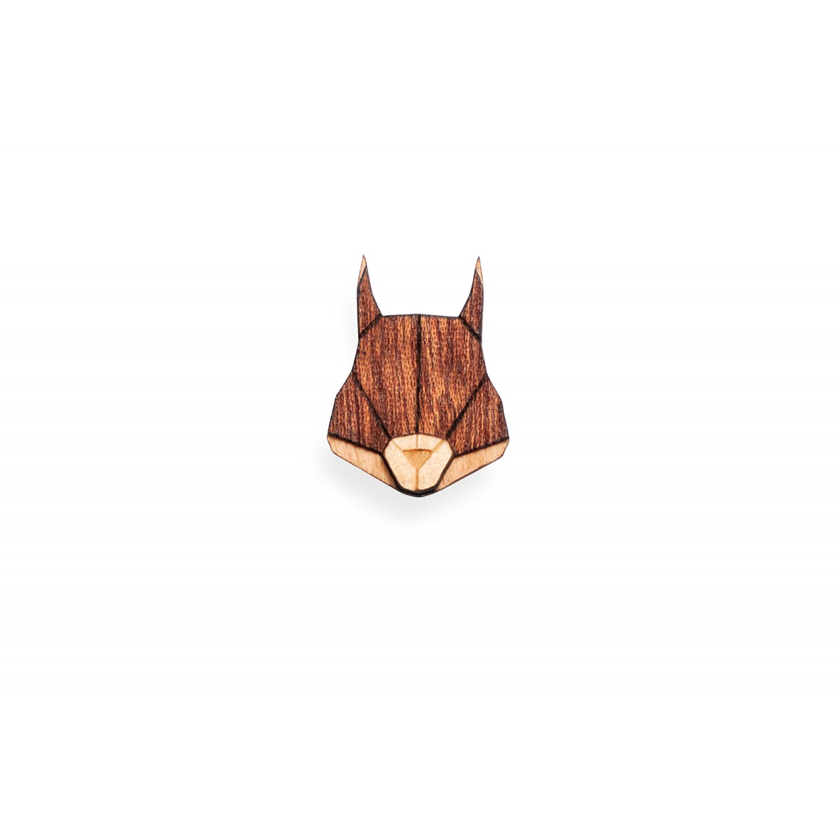 Squirrel Brooch von BeWooden