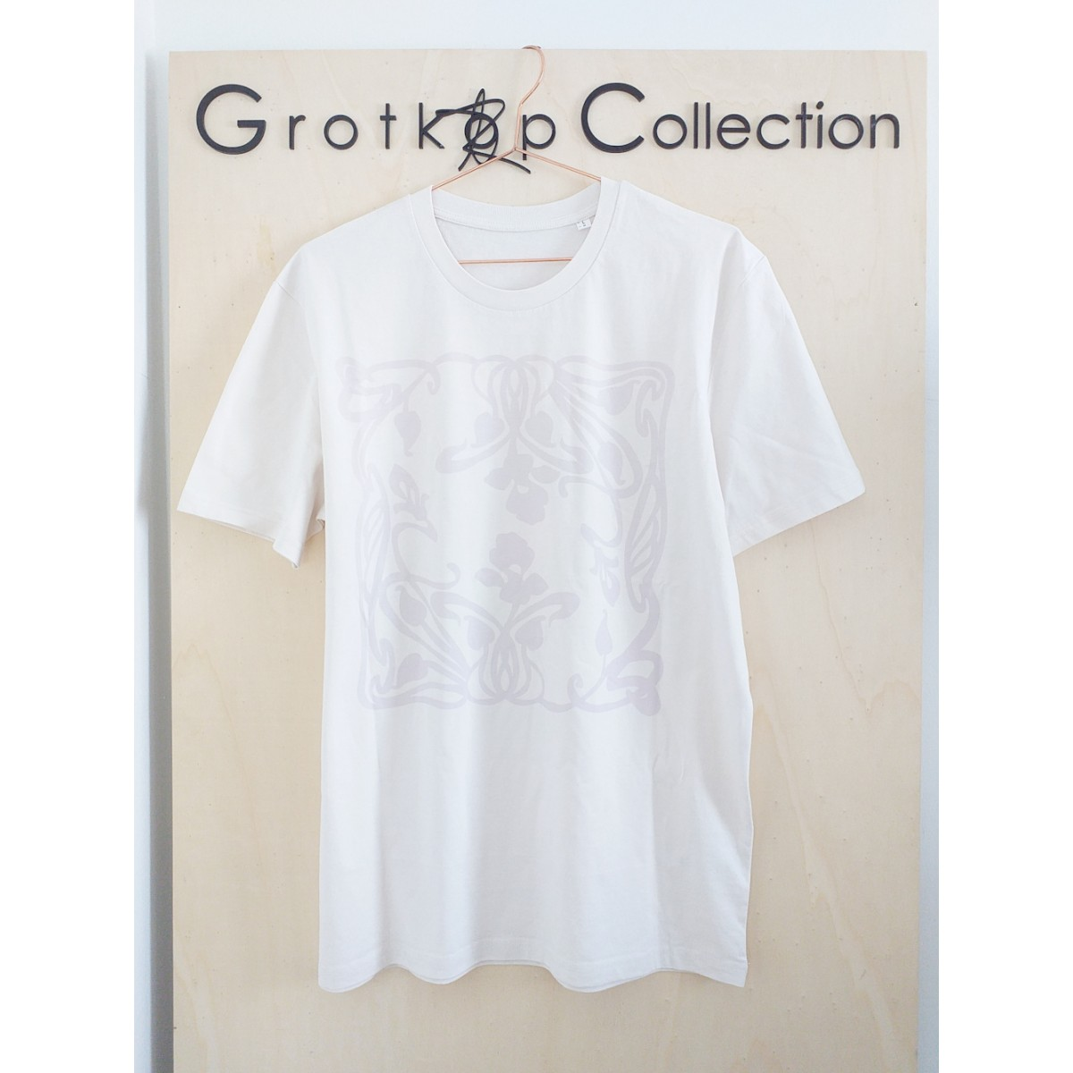 Grotkop Collection ArtNouveauSquare T-Shirt, GOTS zertifiziert