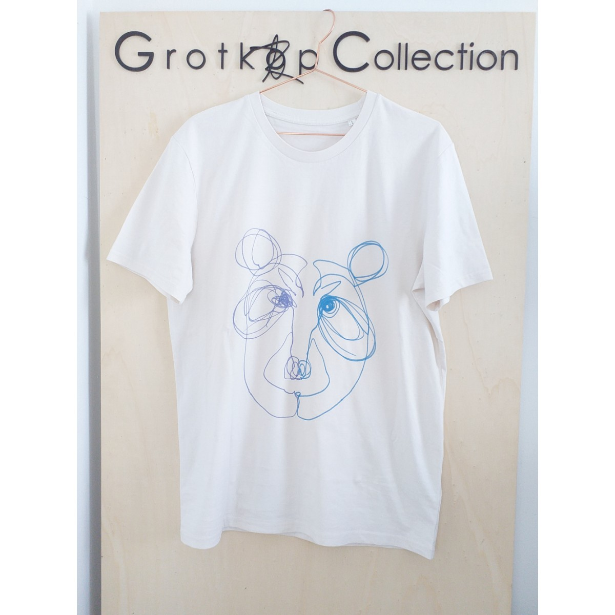 Grotkop Collection GrumpyBear T-Shirt, Bio-Baumwolle