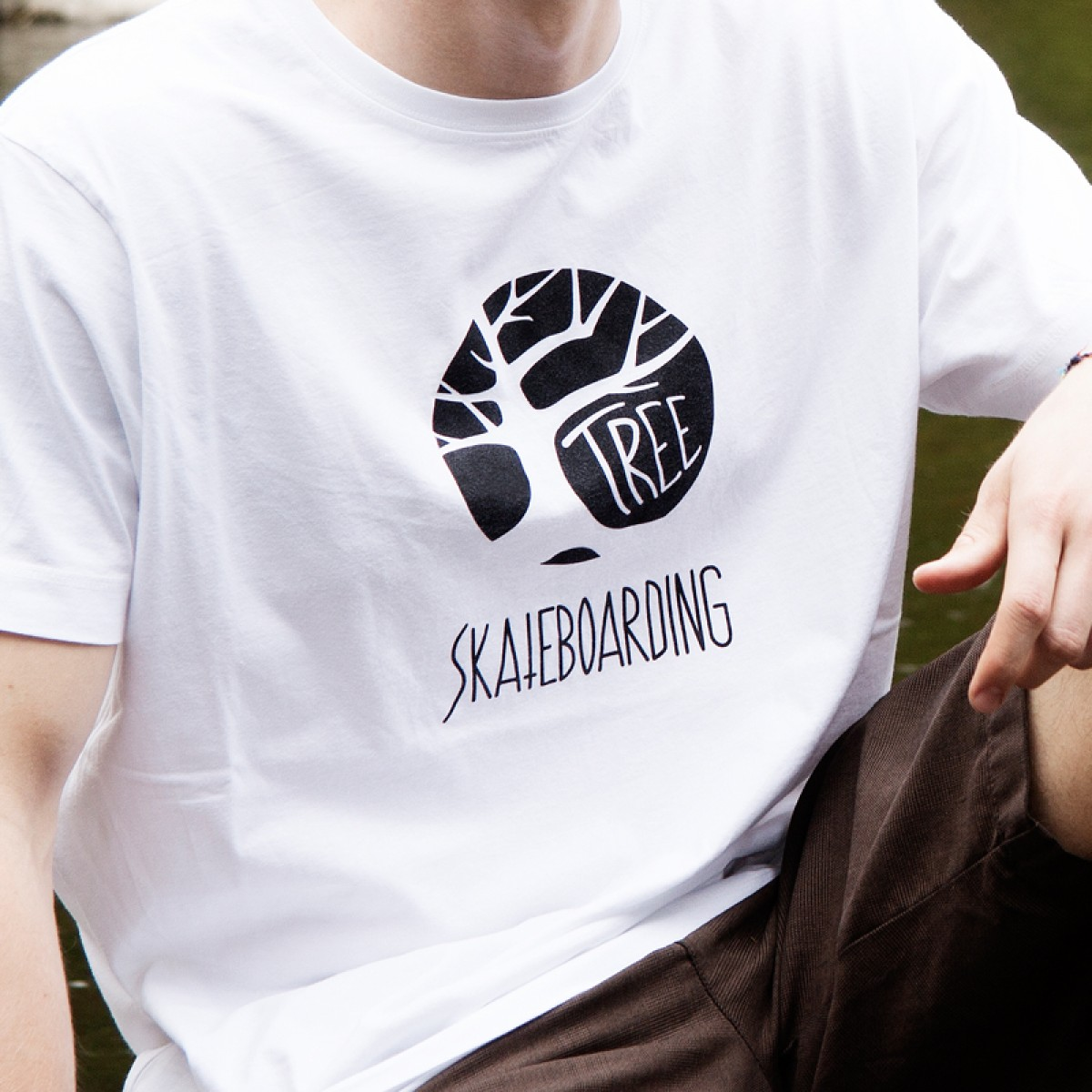 Tree Skateboarding Shirt Original
