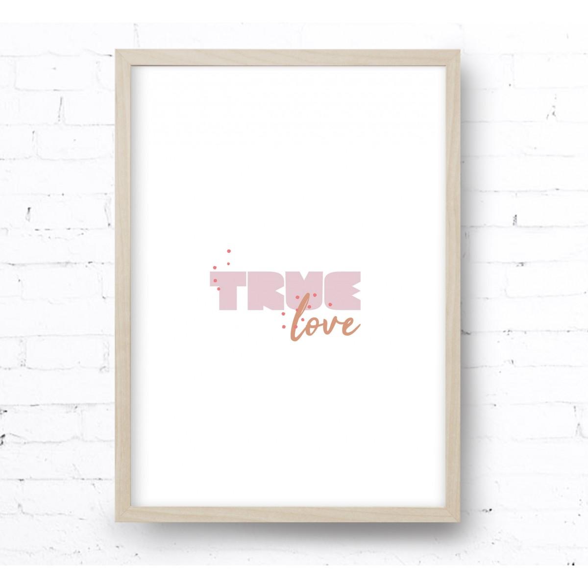 Kruth Design POSTER / TRUE LOVE
