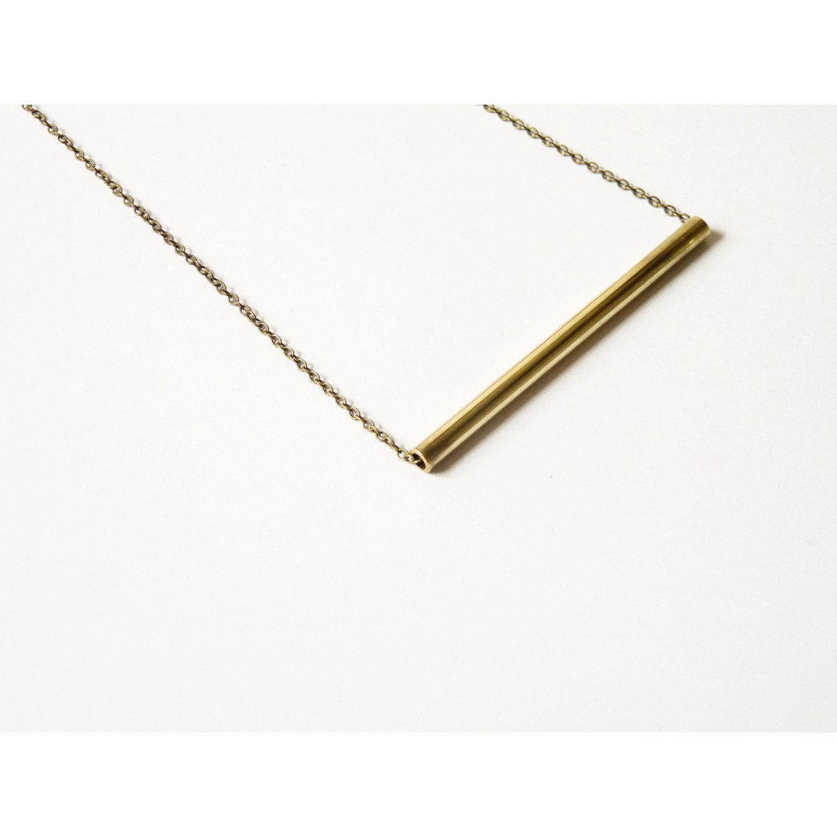 COLD BY Tube Necklace