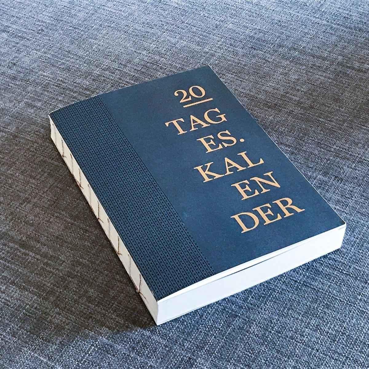 ACD DESIGN.BÜRO / Tageskalender Terminplaner 2020 // DIN A6 & A5