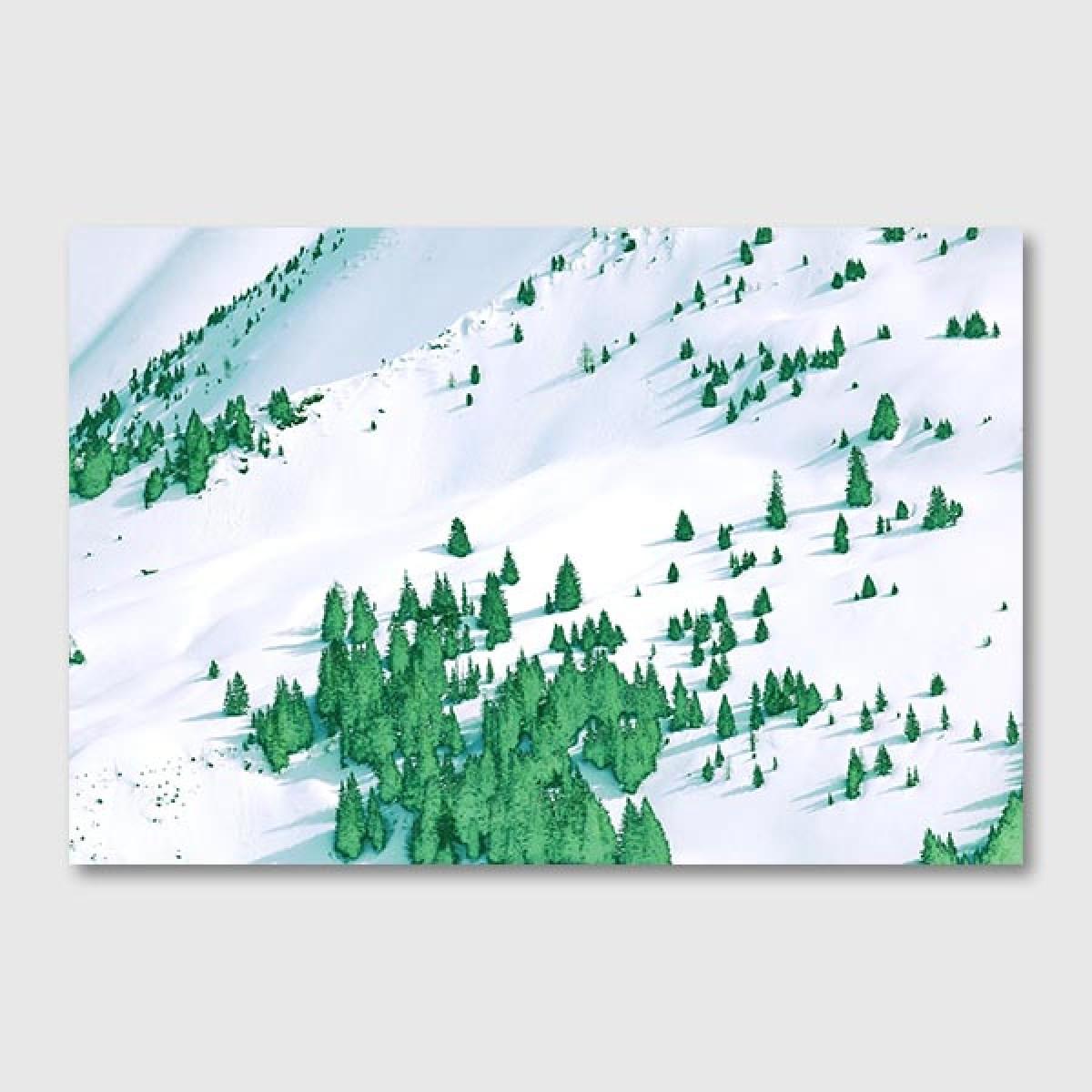 """ZEITLOOPS """"Tannen"""", Posterprint 40x60 cm"""