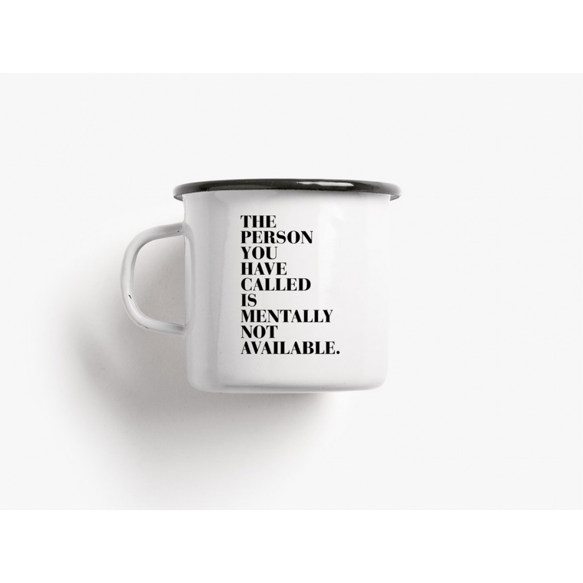 typealive / Emaillebecher Tasse / Available