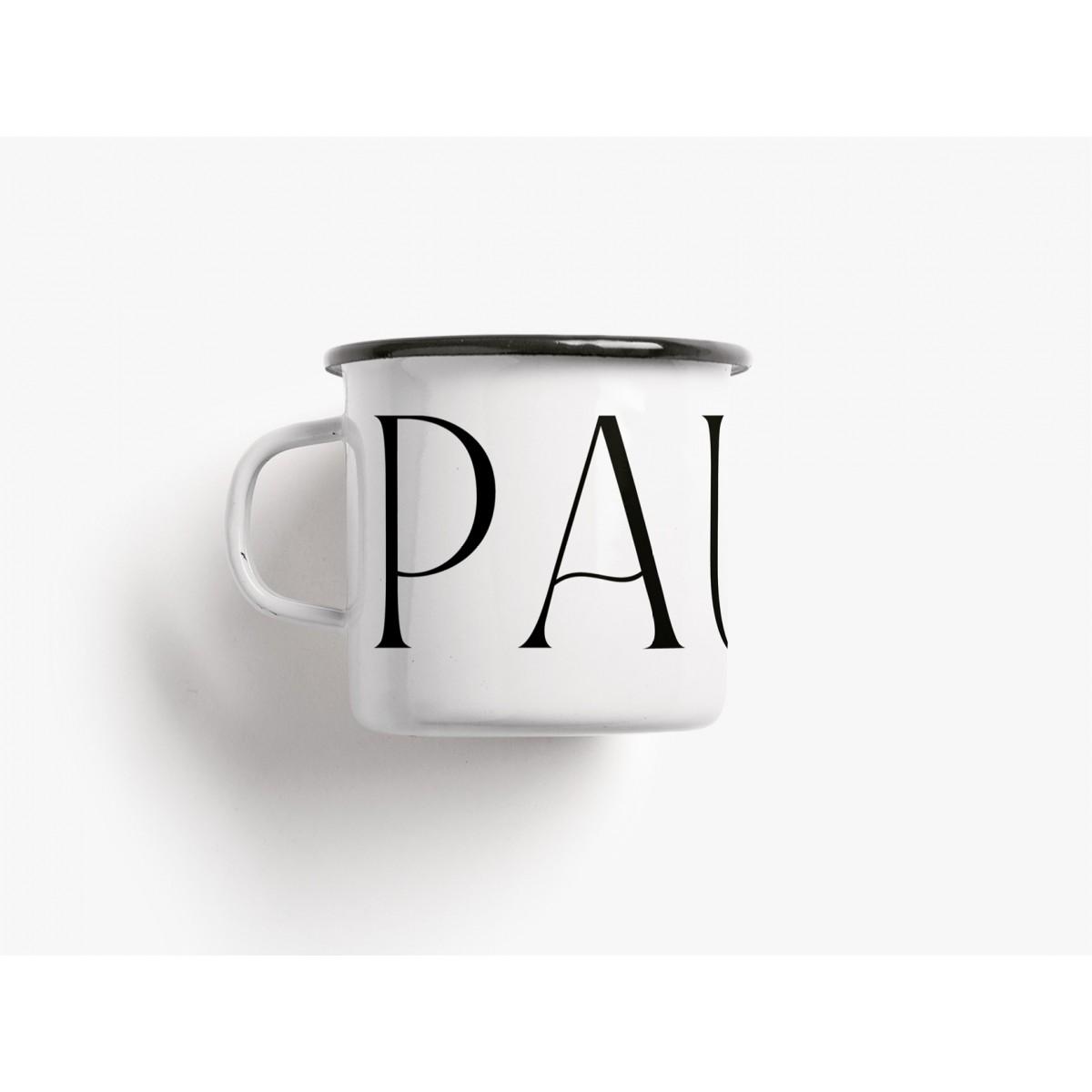 typealive / Emaillebecher Tasse / Pause