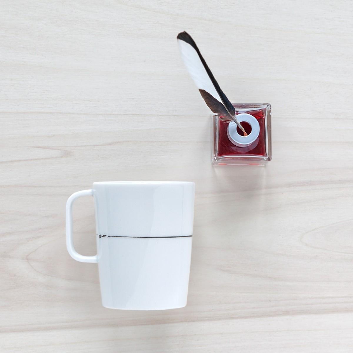 "Kaffeebecher ""Black ink"""