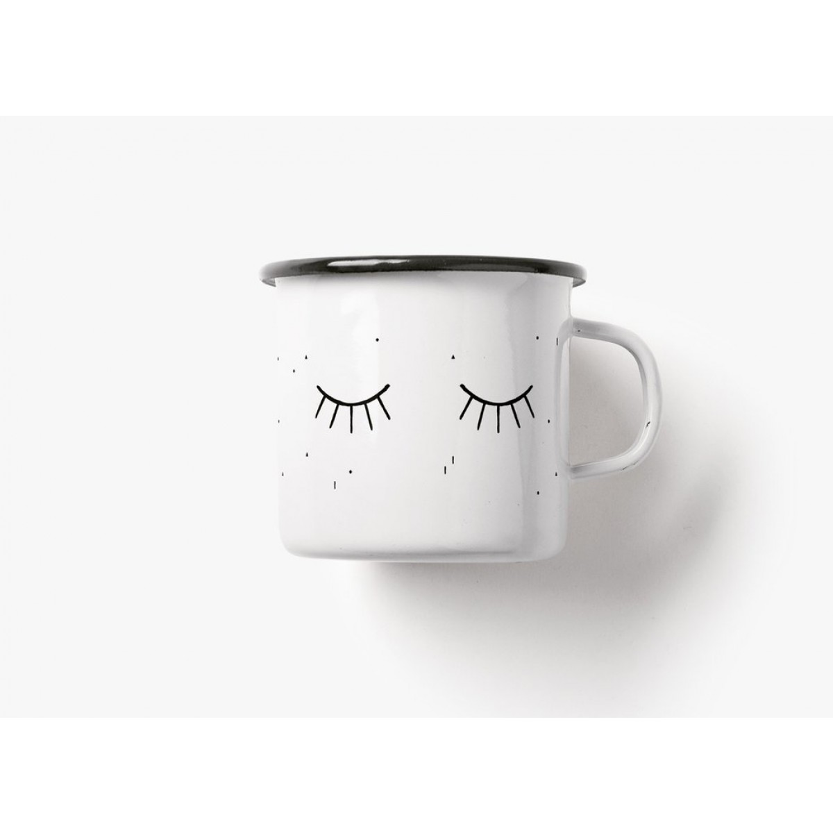 typealive / Emaillebecher Tasse / Smunday